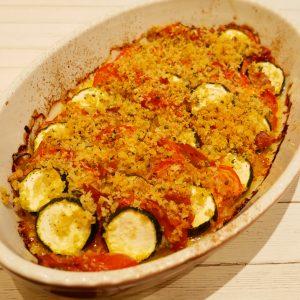 ズッキーニのチアン(南プロヴァンスの野菜グラタン)