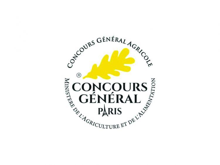 パリ農業コンクールの銀賞ロゴ。フランス産のシャトーヴィランが2019年度に受賞。