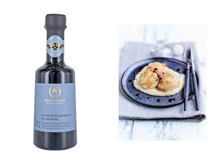 バルサミコビネガー シルバー:ブドウ搾汁とワインビネガーで構成されたバルサミコ酢で、味わいはスッキリとしていながらも優しい甘みと酸味がほのかにきいています。