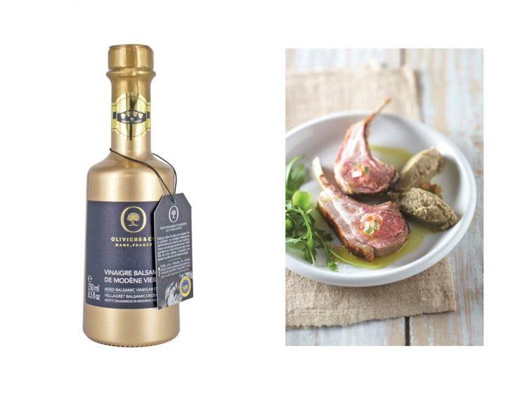 バルサミコビネガー ゴールド:ブドウ搾汁とワインビネガーで構成されたバルサミコ酢。3年間木樽の中で熟され、まろやかな舌触りと優しい甘みが特徴的です。