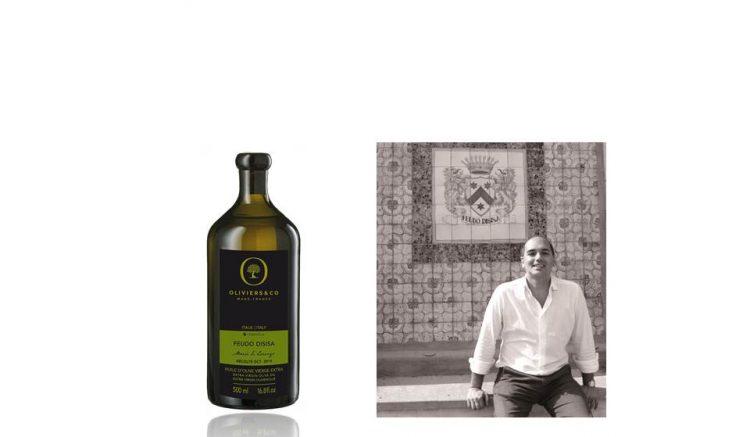 イタリア産オリーブオイル「ディシーサ」の500mlボトルと生産者。2018年1番の人気商品が、3年ぶりに遂に入荷!