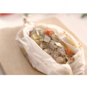 バジル香る 鶏肉のオーブン焼きーバジルのオリーブオイルのレシピ