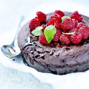 ダークチョコレートケーキーオリーブオイルで作るお菓子レシピ
