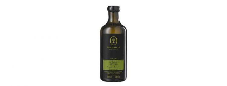イタリア産エキストラバージンオリーブオイル「トレコッリ」。フルーティな香り