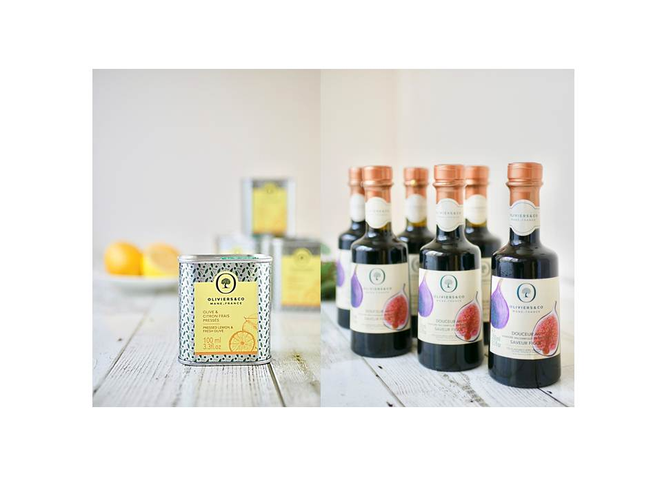 TVで紹介!「オリーブオイル&フレッシュレモン」と「バルサミコビネガー イチジク風味」が再入荷!